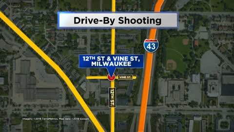 Man shot while sitting in car near 12th and Vine, 13-year-old also hit